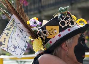 A celebratory hat