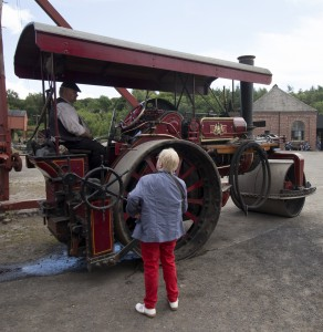Julia and the traction engine
